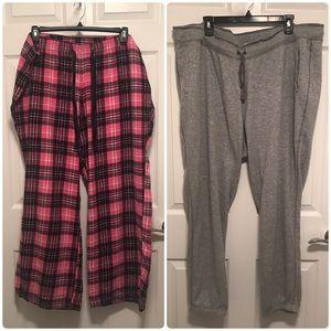Old Navy 2XL Pajama Bundle (Two pair)